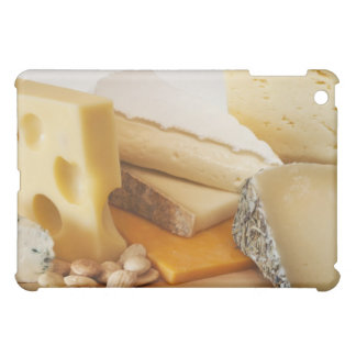 Divers fromages sur le hachoir étuis iPad mini