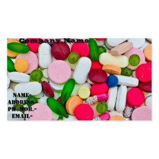 Divers pilule/médicament carte de visite standard