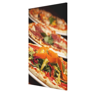 Divers pizza et écrimages toiles