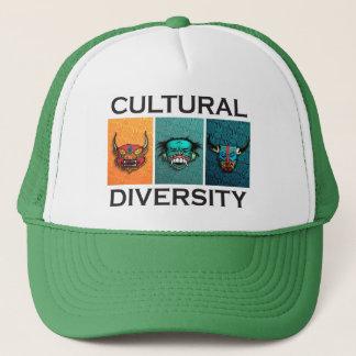Diversité culturelle casquette