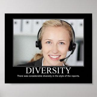 Diversité Poster