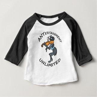 Divertissement de FOURMI illimité, jouant le T-shirt Pour Bébé