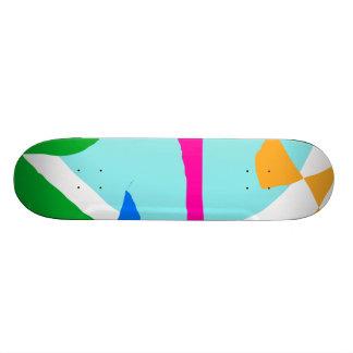 Divertissement de magasin de saveurs de crème glac plateaux de skateboards customisés