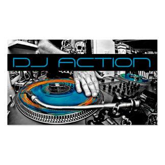Divertissement frais de club de musique du DJ Cartes De Visite Professionnelles