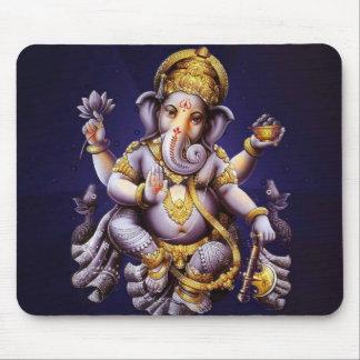 Divinité indoue d'éléphant asiatique de Ganesh Tapis De Souris