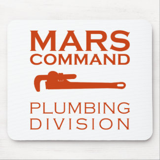 Division de tuyauterie de commande de Mars Tapis De Souris
