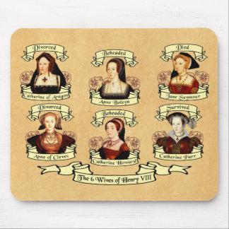 Divorcé, décapité, mort… Épouses de Henry VIII Tapis De Souris