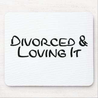 Divorcé et l'aimant tapis de souris