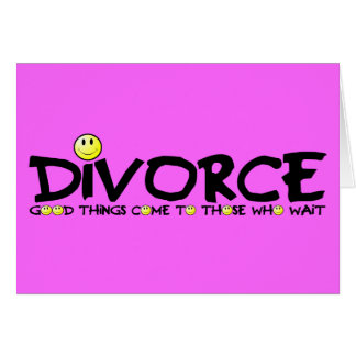 Divorce plein d'esprit cartes