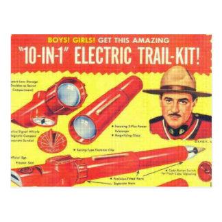 Dix dans un kit électrique de traînée carte postale