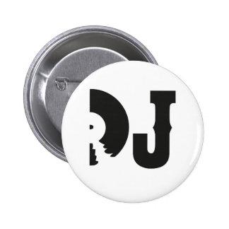 dj badge avec épingle