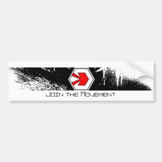 DJDT joignent l'adhésif pour pare-chocs de mouveme Autocollant De Voiture