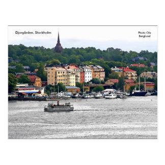 Djurgården, Stockholm, Ola de photo… Carte Postale