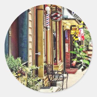 DM d'Annapolis - Raseur-coiffeur et studio de Sticker Rond