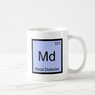 DM - Pièce en t de symbole d'élément de chimie de Mug Blanc