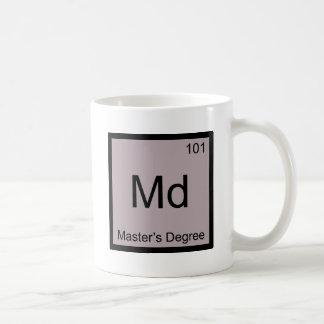 DM - Pièce en t de symbole d'élément de chimie de  Mug