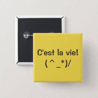 """Do-it-yourself 2"""" boutons carrés - couleur et badge"""