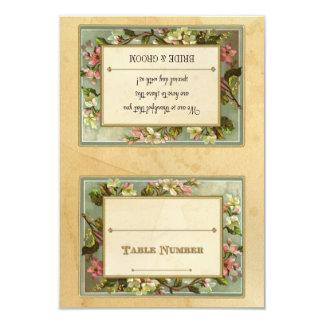 Do-it-yourself Apple vintage fleurissent, Carton D'invitation 8,89 Cm X 12,70 Cm