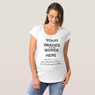 Do-it-yourself - Maternité de T-shirt