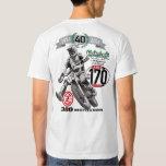 Do-it-yourself Moto vintage 40 ans de motocross T-shirt