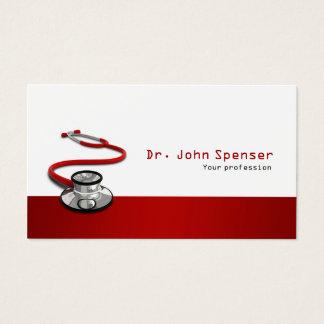 Docteur carte de visite de médecine de sports