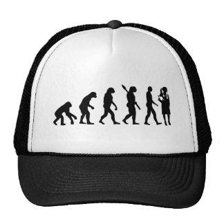Docteur de femelle d'évolution casquettes