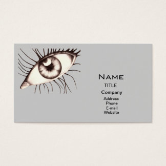 Docteur de yeux cartes de visite