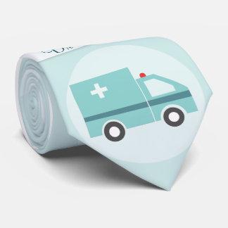 Docteur drôle Medical Physician Monogram Cravates