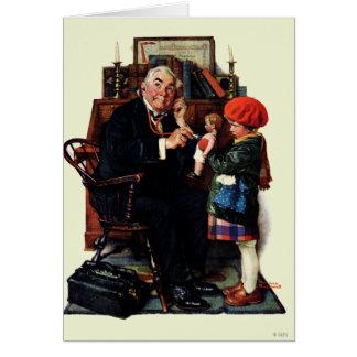 Docteur et la poupée carte de vœux