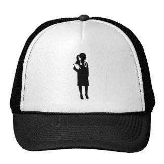 Docteur féminin casquettes de camionneur