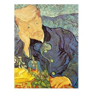 Docteur Gachet Portrait par Vincent van Gogh Carte Postale