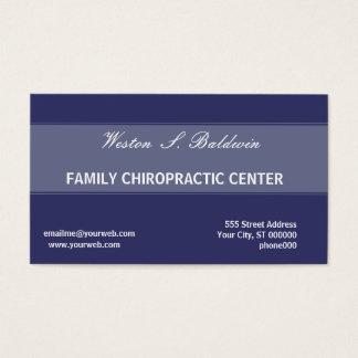 Docteur minimal simple Chiropractic de rendez-vous Cartes De Visite