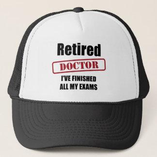 Docteur retraité casquette
