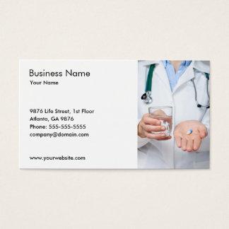 Docteur Stethoscope Pills Photo Cartes De Visite