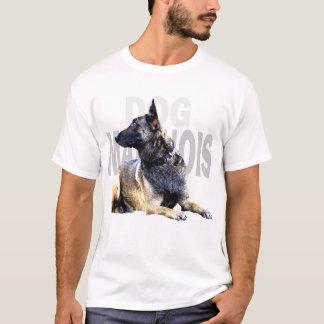 dog malinois china t-shirt
