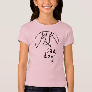 Dog™ triste - le Babydoll des filles T-shirt