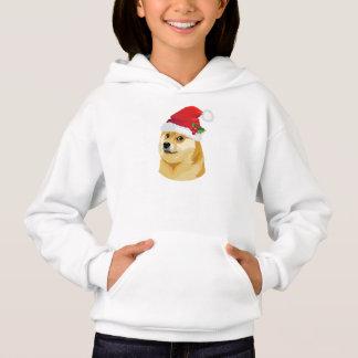 Doge de Noël - doge de père Noël - chien de Noël