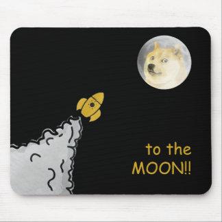 Dogepad - le tapis de souris de Dogecoin !