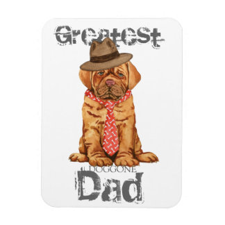 Dogue de Bordeaux Dad Magnet Flexible