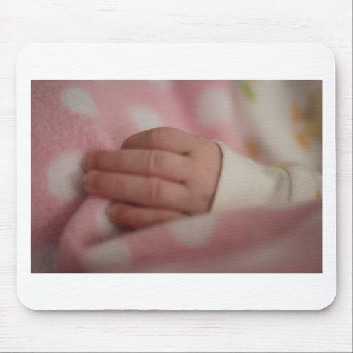 Doigts de bébé tapis de souris