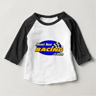 Doit voir l'emballage t-shirt pour bébé
