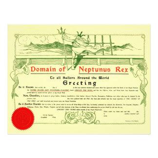 Domaine de Neptunus Rex (1907) Prospectus Customisé
