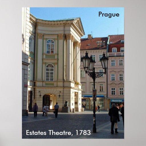 Domaines théâtre, Prague, 2006 Posters