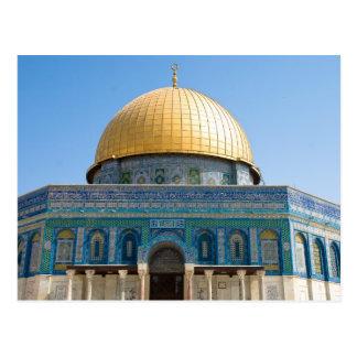 Dôme de la roche Jérusalem Carte Postale