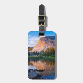 Dôme de Lembert pittoresque, la Californie Étiquette Pour Bagages