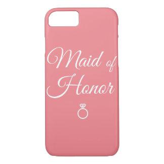 Domestique d'anneau d'honneur coque iPhone 7