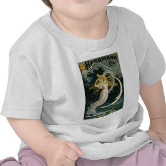 Domestique de ~ de Herrmann de l'acte vintage de m T-shirt