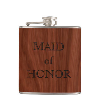 Domestique de faveur élégante de mariage de flasques