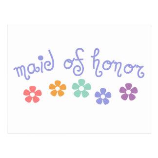 Domestique de Girly-Réplique d'honneur Carte Postale