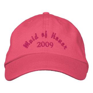 Domestique de l'honneur 2009 casquette brodée